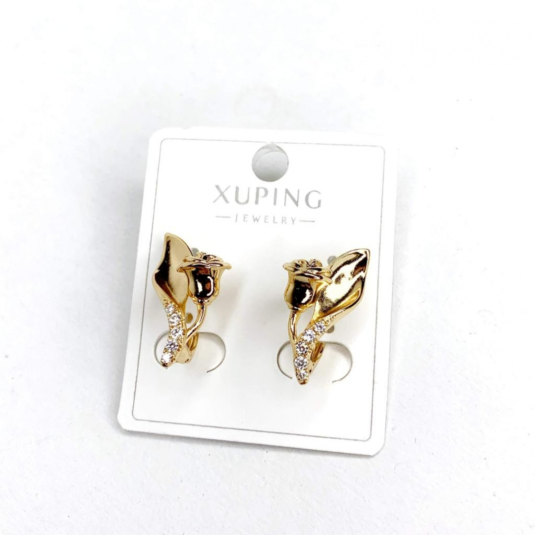Cercei placati aur Xuping Jewelry - 02