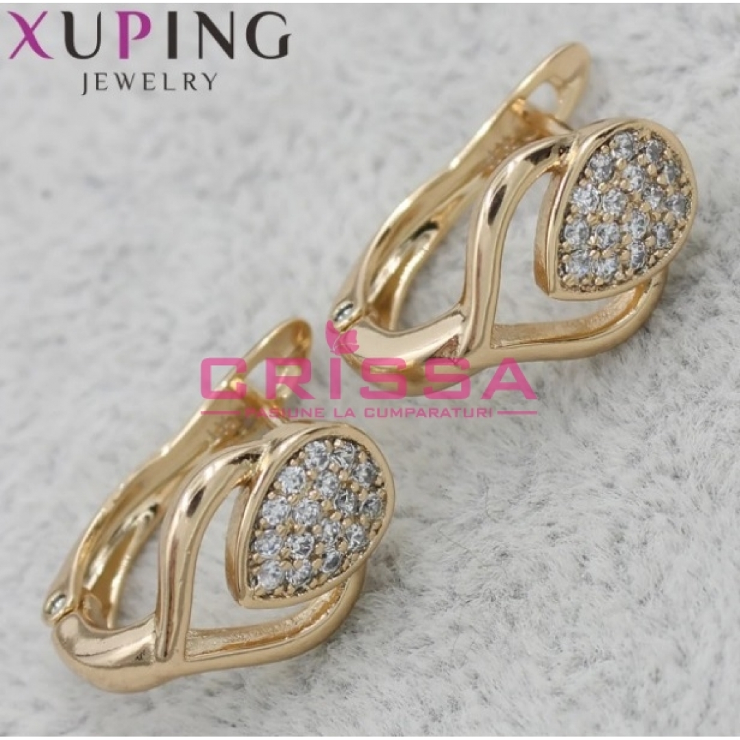Cercei placati aur Xuping Jewelry - 11