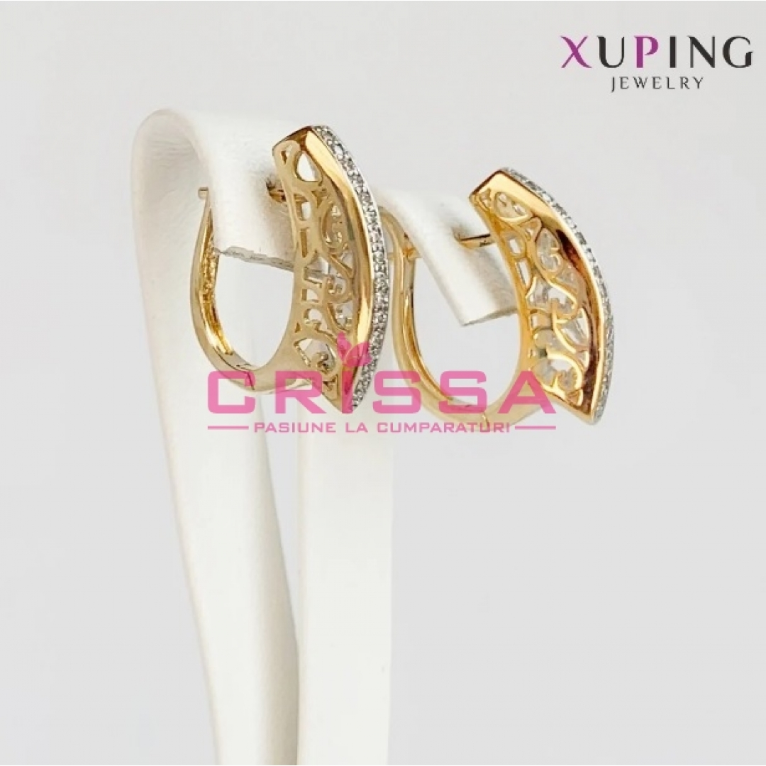 Cercei placati aur Xuping Jewelry - 55