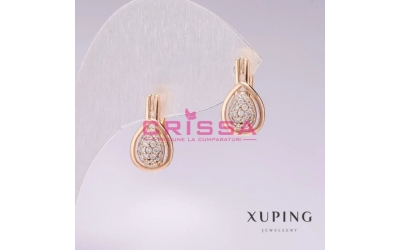 Cercei placati aur Xuping Jewelry - 61