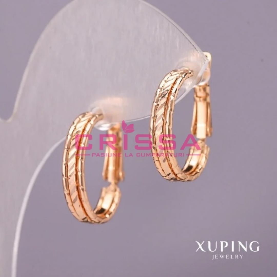 Cercei placati aur Xuping Jewelry - 72