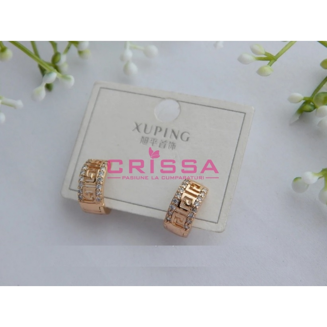 Cercei placati aur Xuping Jewelry - 73