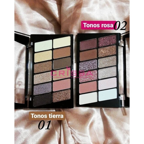 Ushas Eyeshadow 12 Colors