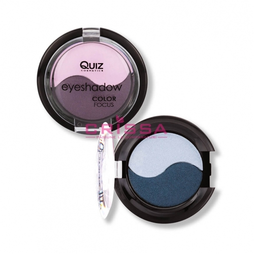 Fard de pleoape duo Quiz Color Focus