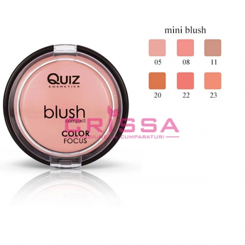 Mini Blush Color Focus Compact