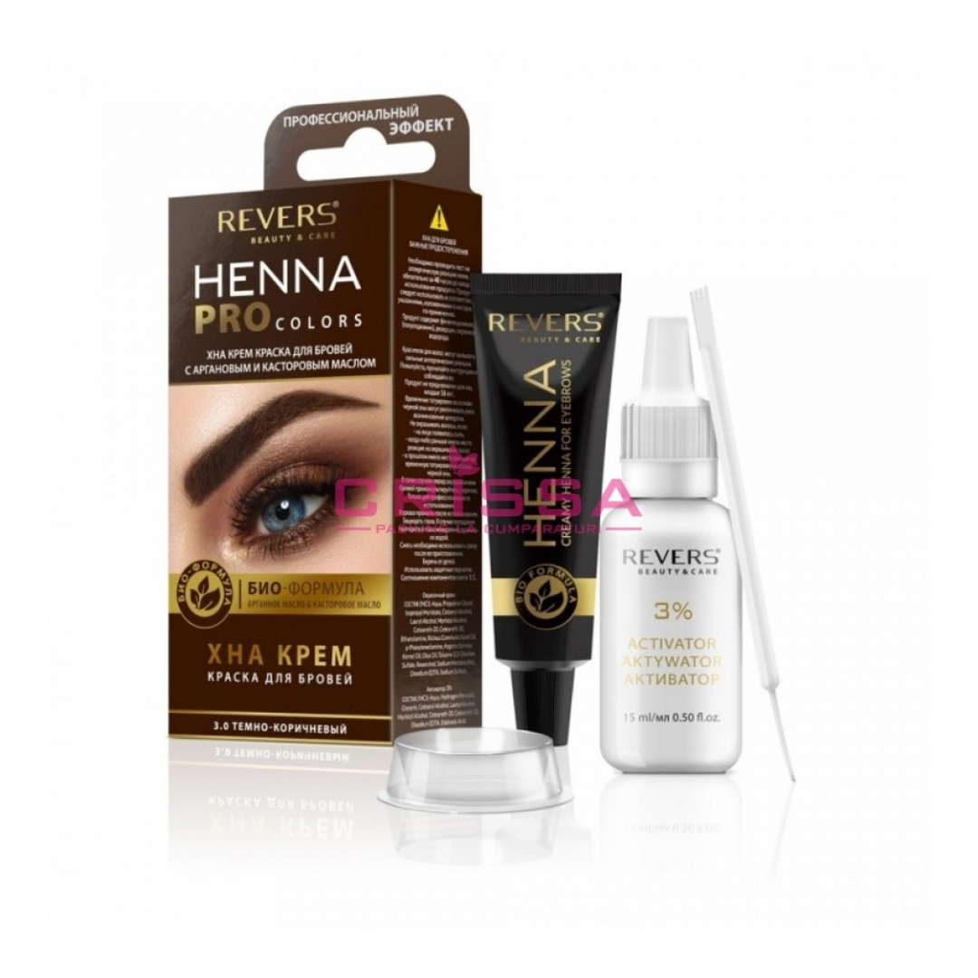 Henna Pro Colors - 3.0 Dark Brown